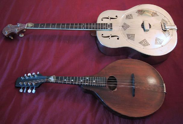 Mandolin vs tenor guitar